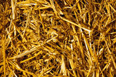 Dry yellow straw — Stock Photo