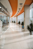 Hall of a modern business centre — Stock Photo