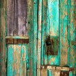 Old wooden door. - Foto de Stock