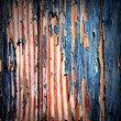 Old painted wooden boards. — Stock Photo #4149832