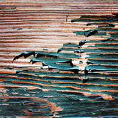 Old painted wooden boards. — Stock Photo