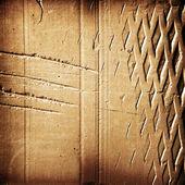 Cegła fragmentu z bliska. — Zdjęcie stockowe