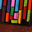 Stock Photo: Oil pastels