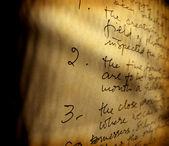 Englische handschrift — Stockfoto
