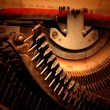 Old typewriter — Stock Photo #3970631
