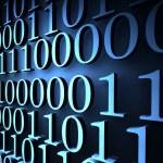Binary code — Stock Photo