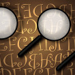 magnifying glass — Stock Photo #3972133