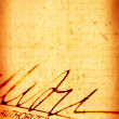 Stock Photo: Signature