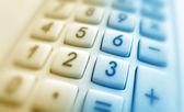 Close up of Calculator keypad — Stock Photo