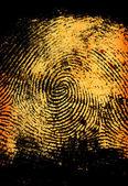 Thumbprint — Stock Photo