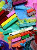 Oil pastels — Stock Photo