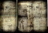 Vitruvian Man — Stock fotografie