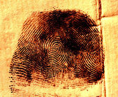 Thumbprint — Stock Photo