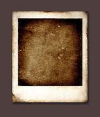 Vieja polaroid — Foto de Stock