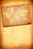 Vintage world map — Stock Photo