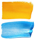 Abstract hand painted background — Stock Photo