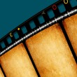 Film strips — Stock Photo
