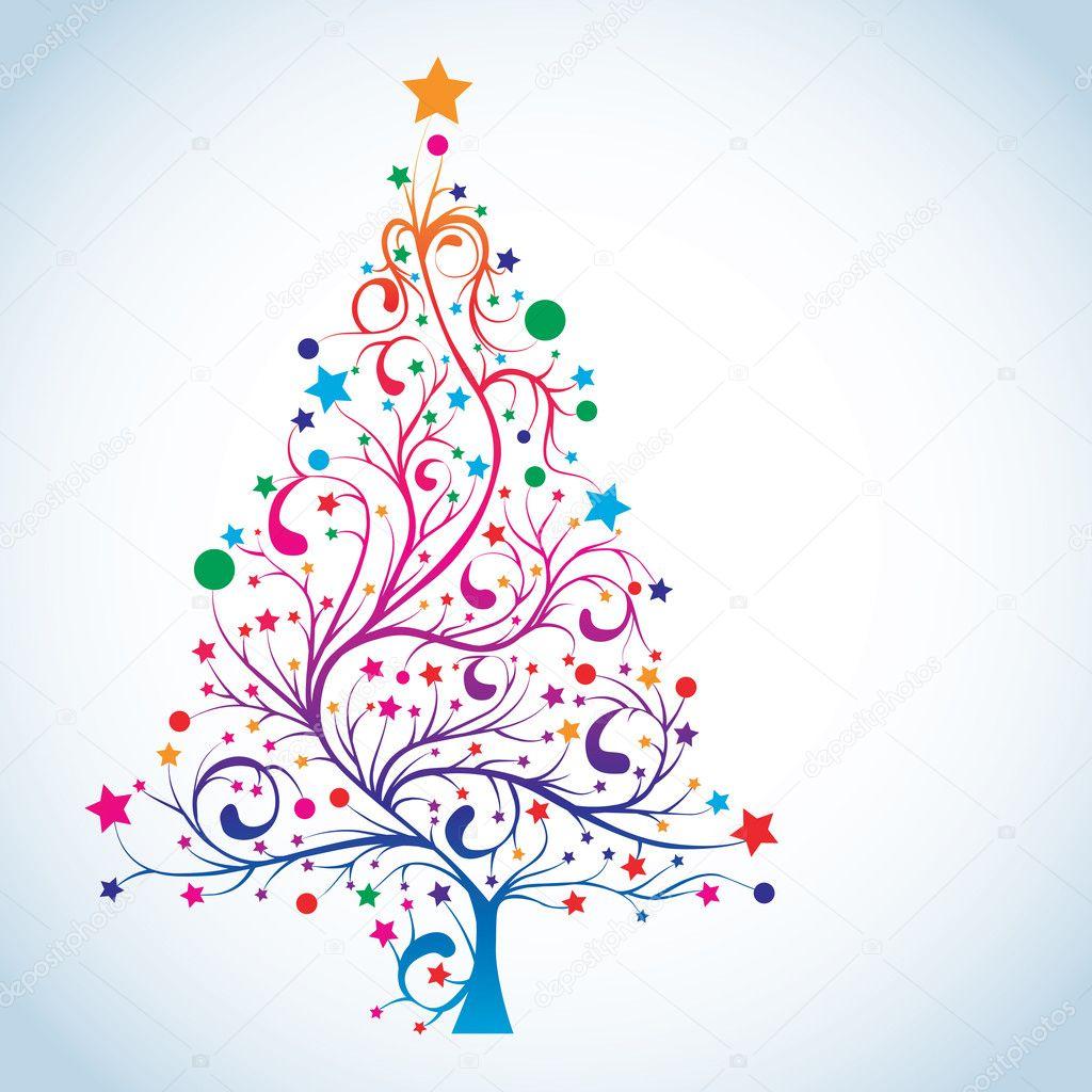 Wonderful free tree vector images