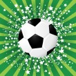 Soccer ball — Vettoriali Stock