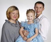 Famiglia felice — Foto Stock