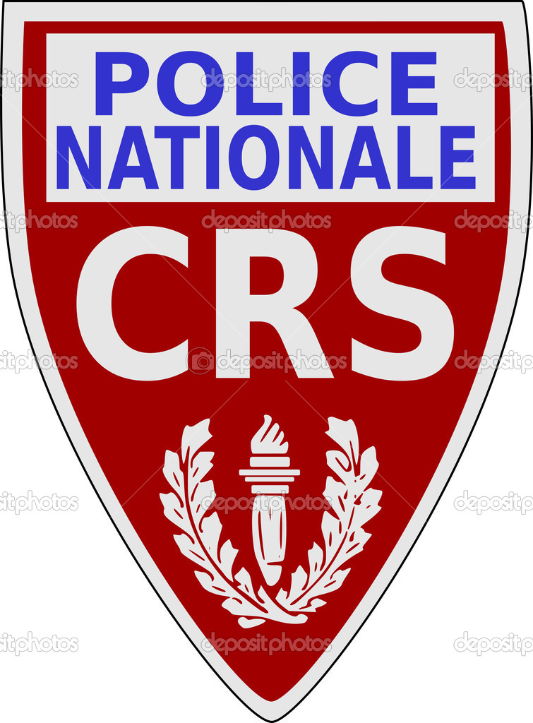 Ecusson de CRS — Stock Vector #4847376