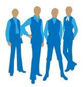 Moda mężczyźni wektor — Wektor stockowy