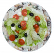 Mediterranean salad - Stock Photo