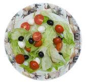 Mediterranean salad — Stock Photo