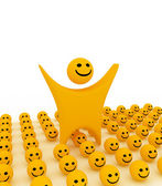 Smiley — Stock Photo