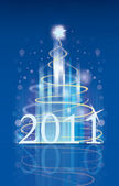 Happy new year 2011 — Stock Vector