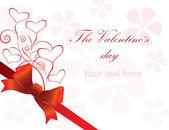 Colección de tarjetas de felicitación para san valentín — Stockvector