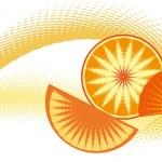 Orange juice — Stock Vector