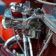 V-twin engine — Stock Photo
