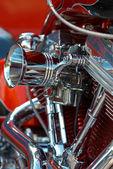 V-twin engine — Stock Photo