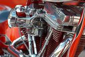 V-2 bike engine — Stock Photo