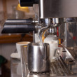 Espresso machine - Stock Photo