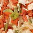 Dehydrated vegetables — Stock Photo