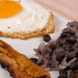 Royalty-Free Stock Photo: Gallo pinto breakfast