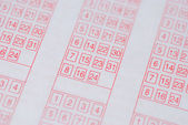 Lottery ticket — Stock Photo