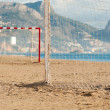 Beach soccer - Stock Photo
