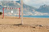 Beach soccer — Stock Photo