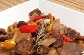 Mushroom goulash — Stock Photo