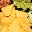 Nachos and dips — Stock Photo #4622430