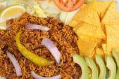 Spicy rice — Stock Photo