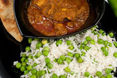 Chicken Madras curry — Stock Photo