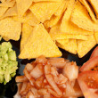Nachos and dips — Stock Photo #4722855