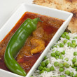Chicken Madras curry — Stockfoto