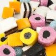 Liquorice candy — Stock Photo