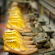 Footwear production — Stock Photo