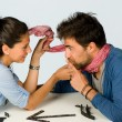 Playful couple — Stock Photo #5338158